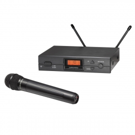 Audio Technica ATW-R2100a Handheld Wireless Microphone System