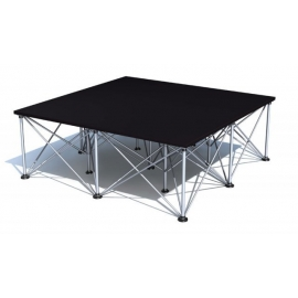 Hire or rent Aludeck Spider Stage 2m x 1m