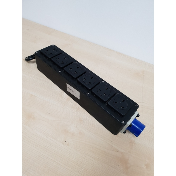 16a Splitter Box - Outputs 6 x 13a