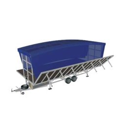 8m x 6m Mobile Outdoor Trailer Stage