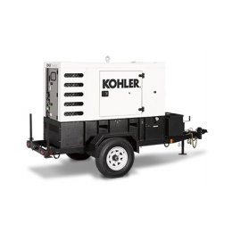 Hire or rent 30KVA Towable Power Generator