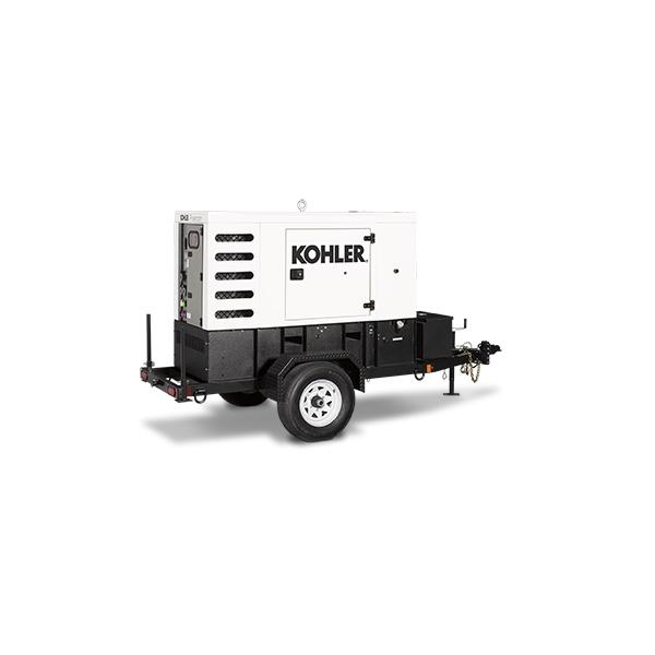 Hire or rent 30KVA Towable Power Generator