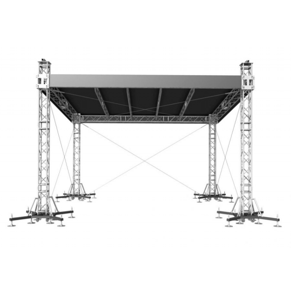 Hire 9m x 7m Outdoor Roof Truss with 2m PA wings