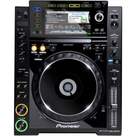 Hire Pioneer CDJ-2000 DJ CD / Media Player Deck
