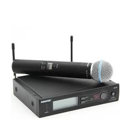 Hire Shure SLX4 with SM58 Wireless Microphone