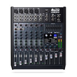 Hire Alto Live 802 8 Channel USB Mixer with DSP