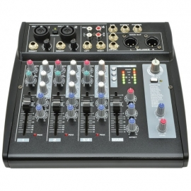 Hire or rent Citronic CM4-DSP Compact Mixer with USB/SD Player