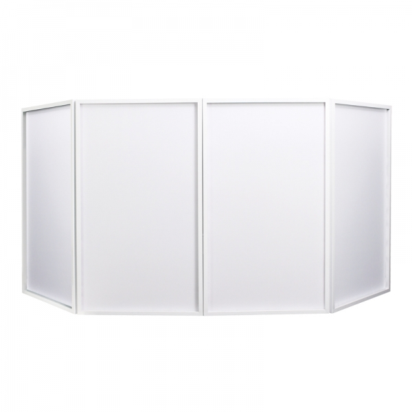 hire equinox-foldable-dj-screen-white