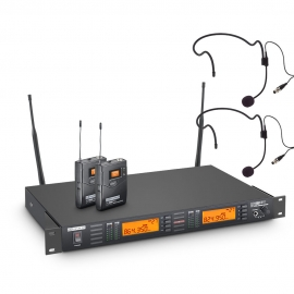 Hire or rent LD Systems WS100-BPH2 Wireless Mic Pack