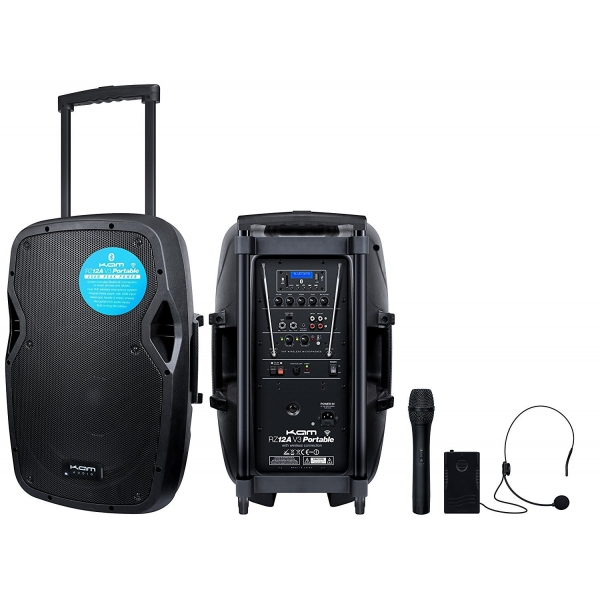 Hire or rent KAM RZ12A PA-BT Portable Battery Bluetooth PA