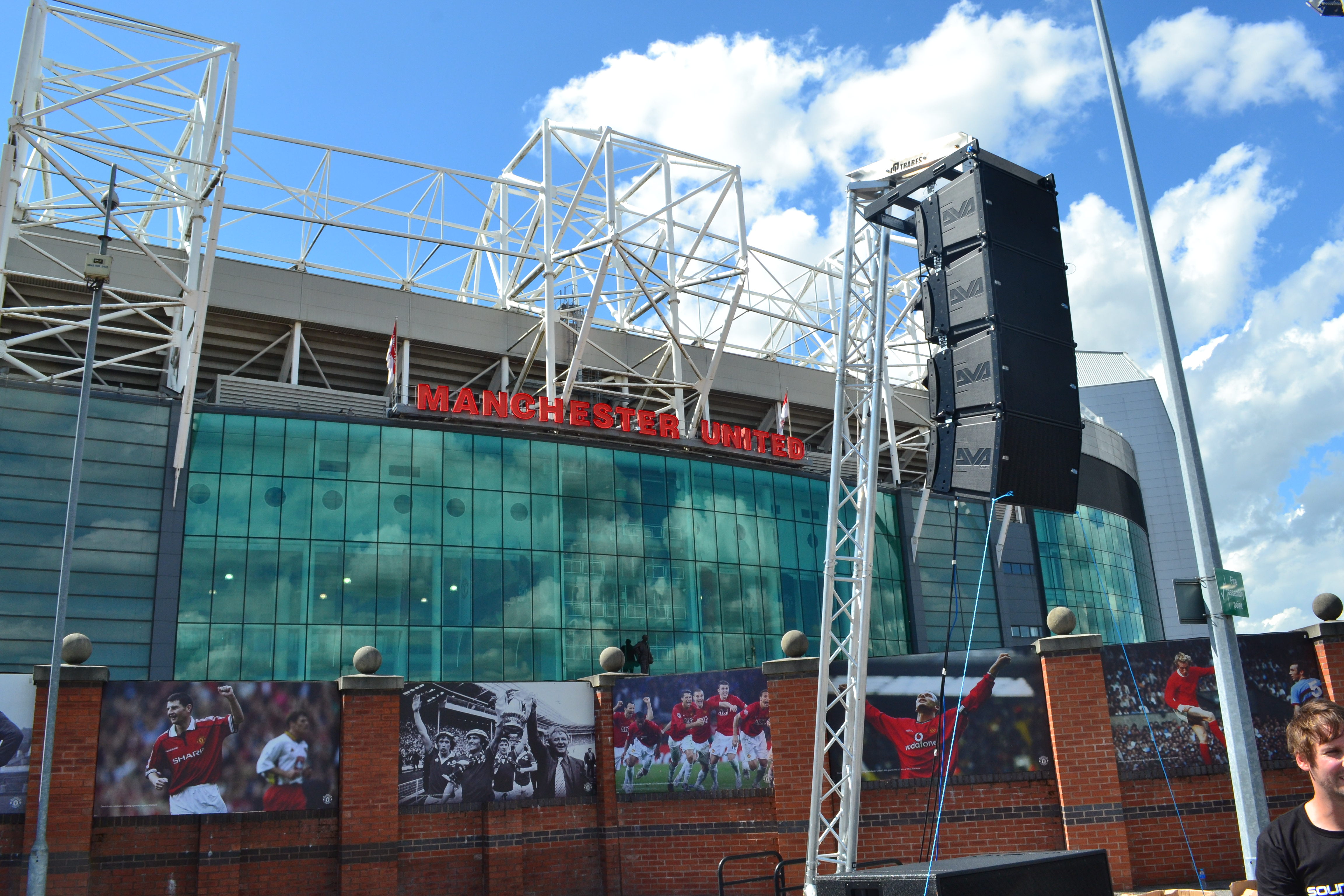 AV Hire Event Companies Outdoor Sound System for Sporting Event