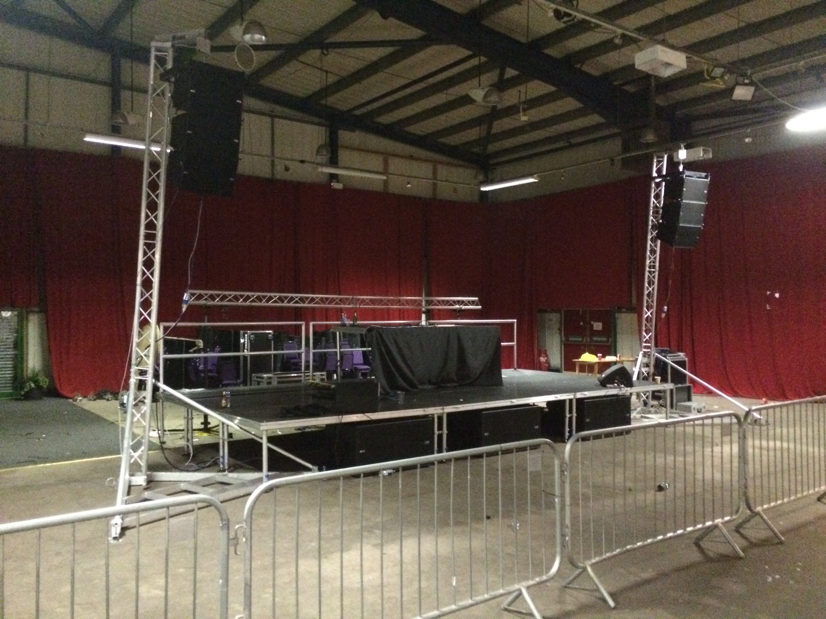 Staging Hire & Sound System Hire
