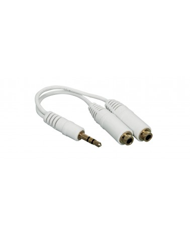 AV Link 3.5mm Stereo Headphone Splitter