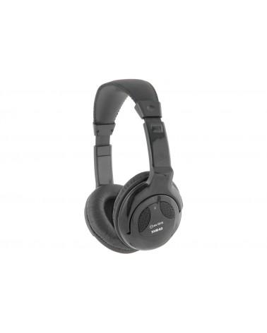AV Link SHB40 Black Stereo Hi-Fi Headphones