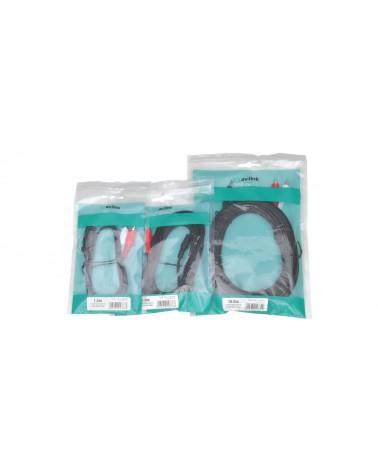 AV Link 3.5mm St plug - 2 RCA plug 1.2m