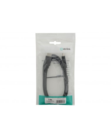 AV Link HDMI High Speed with Ethernet Plug to Plug Leads
