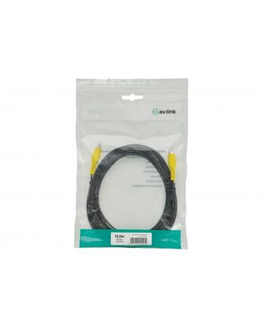 AV Link RCA Plug to RCA Plug Leads