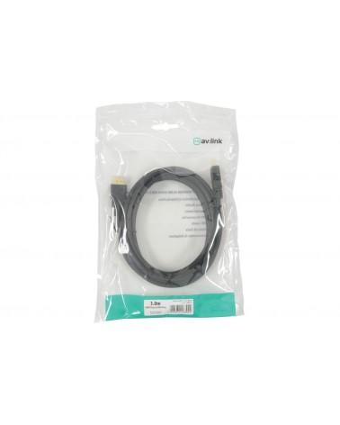 AV Link High Quality 4K Ready HDMI Leads - Plug to Plug