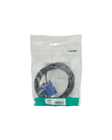 AV Link VGA Plug to Plug Leads