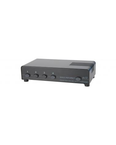 AV Link AD-SPK14 4 Way Loudspeaker Selector