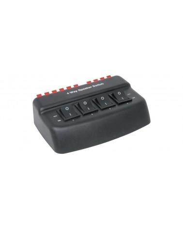 AV Link AD-SPK42 4 Way Loudspeaker Selector