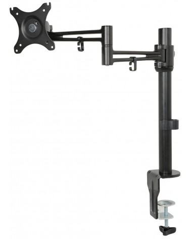 AV Link DM211 Single Monitor Desktop Mount with Extension Arm