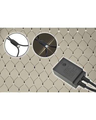 Fluxia NL240-WWC Outdoor LED Net Light with Controller