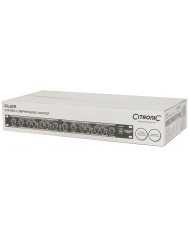 Citronic CL22 Stereo Compressor / Limiter / Gate