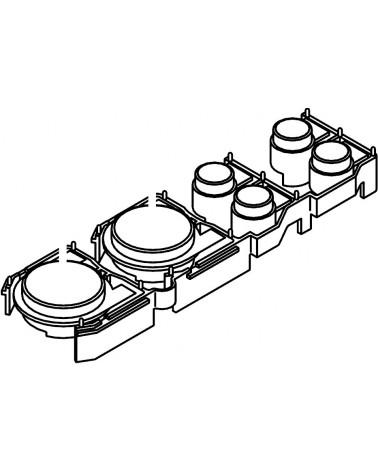 Pioneer CDJ-1000 MK1/MK2/MK3 Play/Cue/Track/Search Button Bank