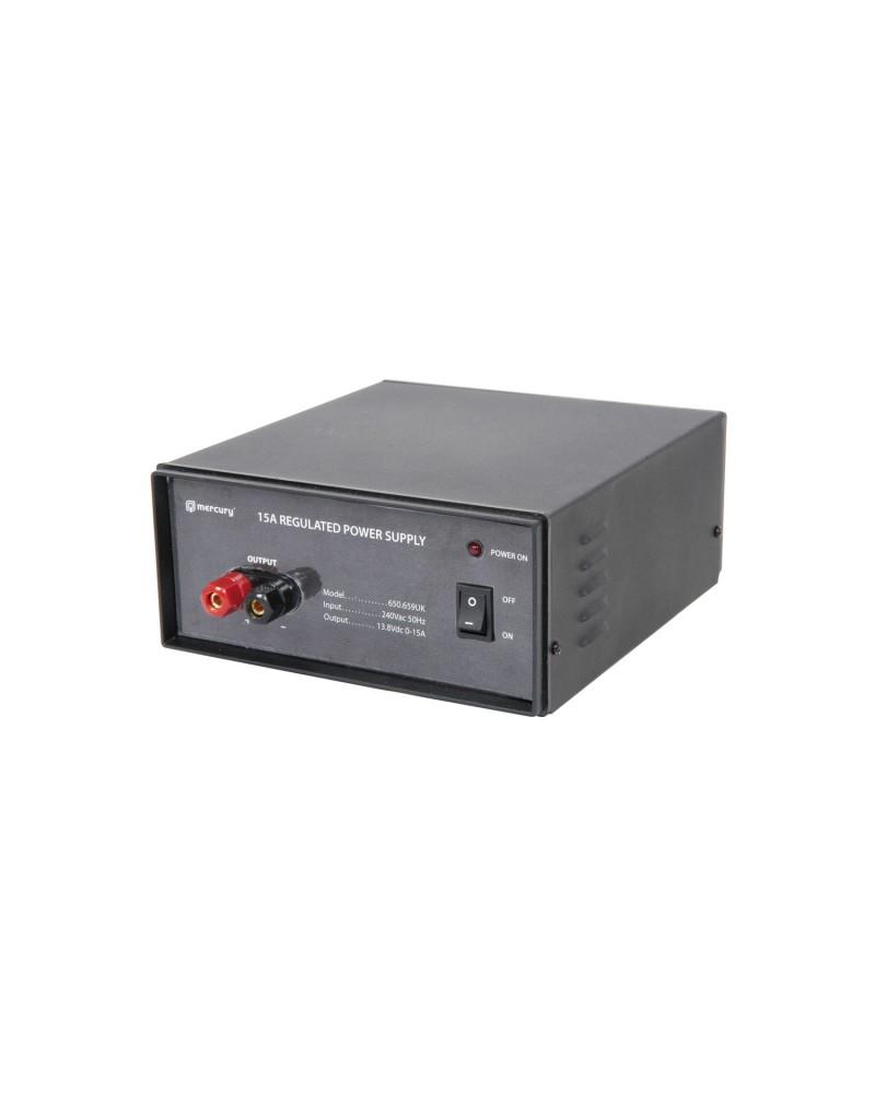 Mercury CB-R15 Switch-mode 13.8V Bench Top Power Supplies