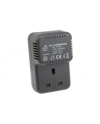 Mercury US2UK45VA UK Step-up Voltage Converter 110V - 220V (45VA)