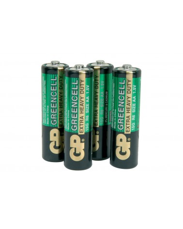 GP Battery GP Greencell Zinc Chloride Batteries