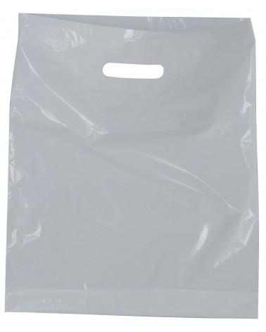AVSL White Carrier Bag
