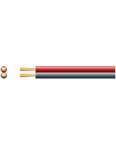 Mercury Economy Fig 8 Speaker Cable Red/Black