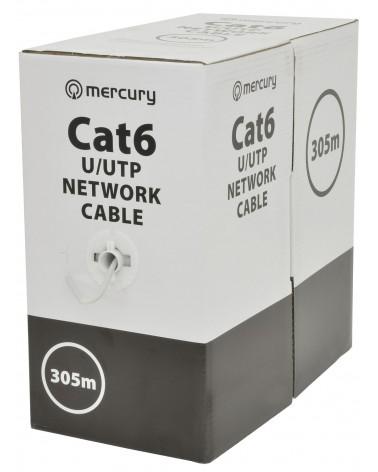 Mercury Cat6 U/UTP LSZH Network Cable