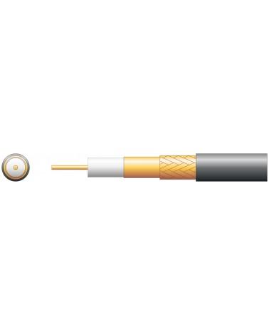 Mercury 100U 75 Ohms Foam Filled Coaxial Cable - CCA Braid