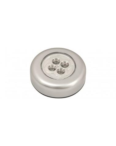 Mercury PL001 4 LED Round Push Light