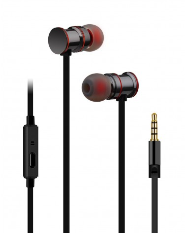 Avlink Magnetic Earphones w/HF Black