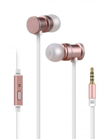 Avlink Magnetic Earphones w/HF Rose