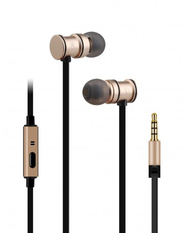 Avlink Magnetic Earphones w/HF Gold