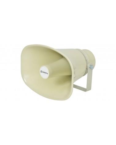 Adastra Rectangular horn speaker, 100V line, 30W rms