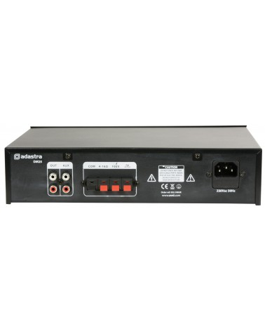 Adastra DM25 Digital 100V Mixer-Amp 25W