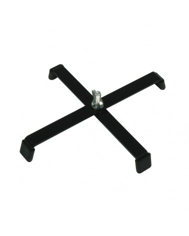 ADJ Floor stand 4 legs black FS4LB