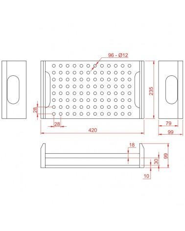 Accu Case ACA-SW/Pin Inlay for Conus Case