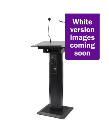 Clever Acoustics LPA 200 Lectern PA System (White Housing)