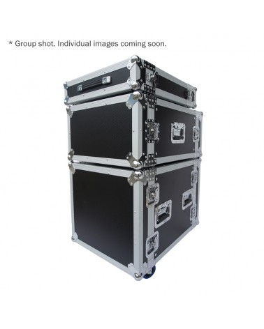10U Rack Flight Case (with Wheels)