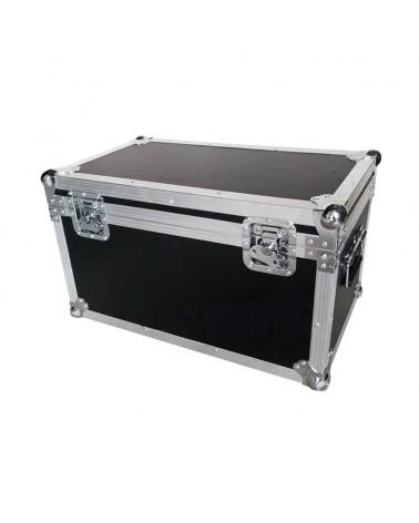Slimline 1T100, 12HEX12, UV 50W COB/Intense Slim Par x 4 Road Case