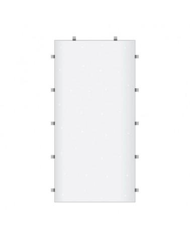 White Starlit 2ft x 4ft Dance Floor Panel