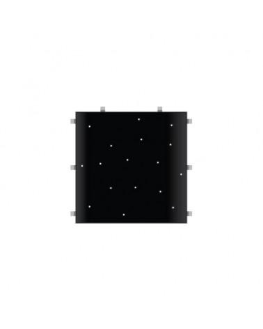 Black Starlit 2ft x 2ft Dance Floor Panel (3 sided)