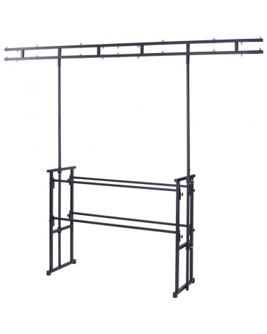 4ft Pro Disco Stand and Twin Bar Overhead Kit